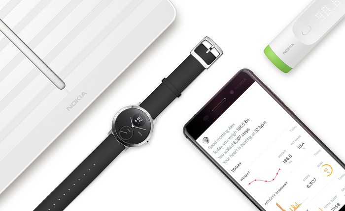 Withings sẽ trở lại sau khi mua lại mảng kinh doanh sức khỏe của Nokia
