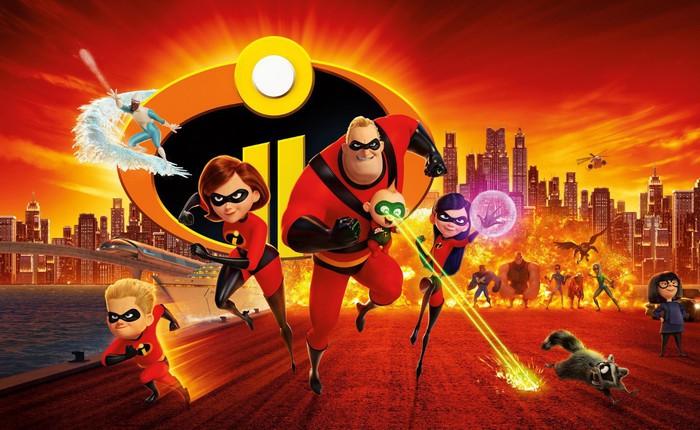 """Gia đình siêu nhân tái xuất mãn nhãn, thú vị và đậm tính giải trí trong """"Incredibles 2"""""""