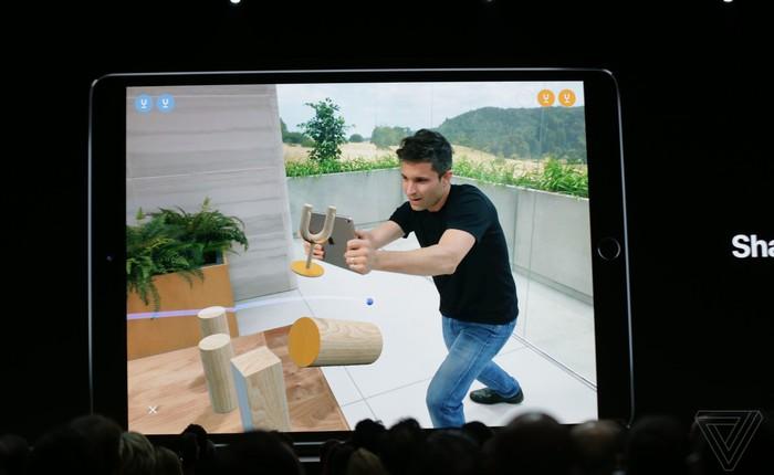[WWDC 2018] Apple ra mắt nền tảng ARKit 2, có định dạng file riêng, đồng bộ nhiều thiết bị trên cùng 1 không gian AR