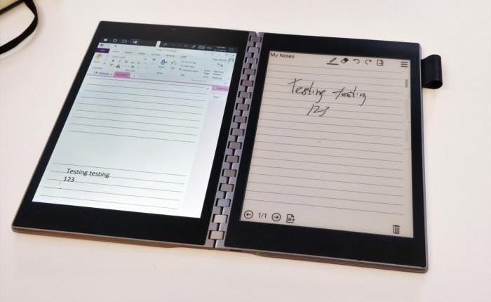 Sau Microsoft và Dell, đến lượt Intel cũng chạy theo xu hướng PC màn hình gập