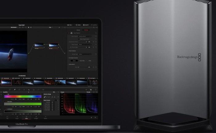 """Blackmagic """"trình làng"""" eGPU tương thích với MacBook 2018: Radeon Pro 580, giá gần 16 triệu đồng"""