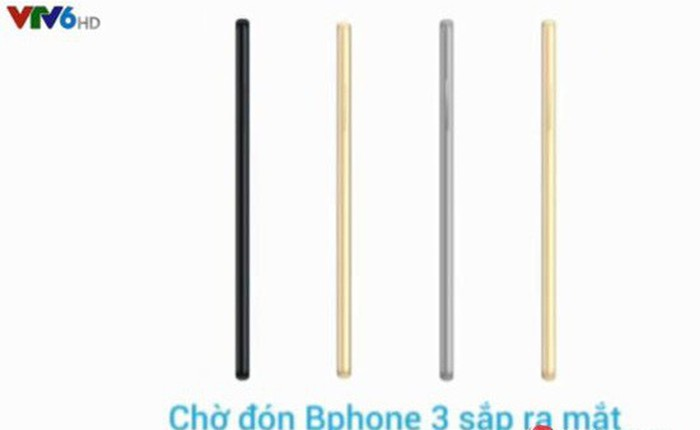 Công ty Nhật Bản sẽ lắp ráp smartphone Bphone 3