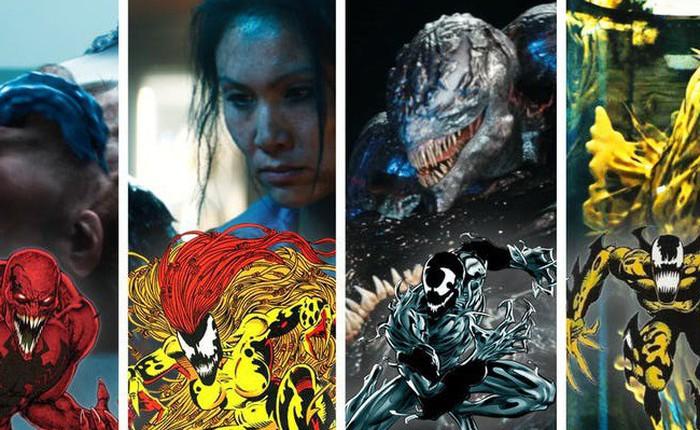 Những ác nhân Symbiote xuất hiện trong trailer 2, đối đầu trực tiếp với Venom là ai?