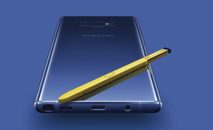 Lượng đặt hàng trước Galaxy Note9 cao hơn Galaxy S9 tới 50%