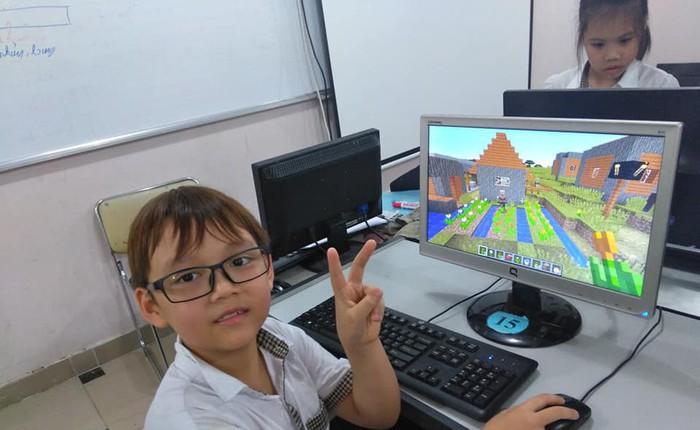 Trường tiểu học tại Hà Nội đưa Minecraft vào giảng dạy cho học sinh