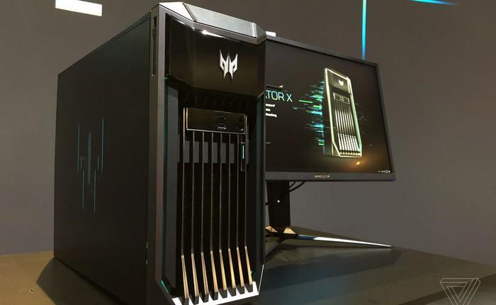 """[IFA 2018] Acer """"trình làng"""" gaming PC cực khủng Predator X: được trang bị 2 bộ xử lý Intel Xeon, 12 khe RAM"""