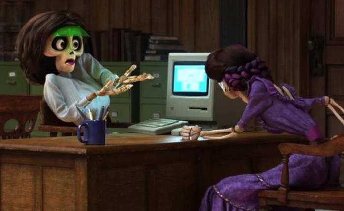 """Những lần Pixar dùng Apple làm """"Easter egg"""" để tưởng nhớ Steve Jobs"""