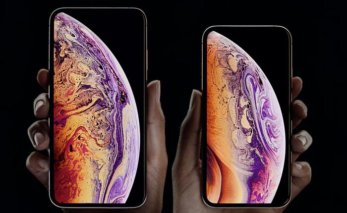 Lần đầu tiên Apple ra mắt một chiếc iPhone với màn hình lớn hơn cả Galaxy Note9