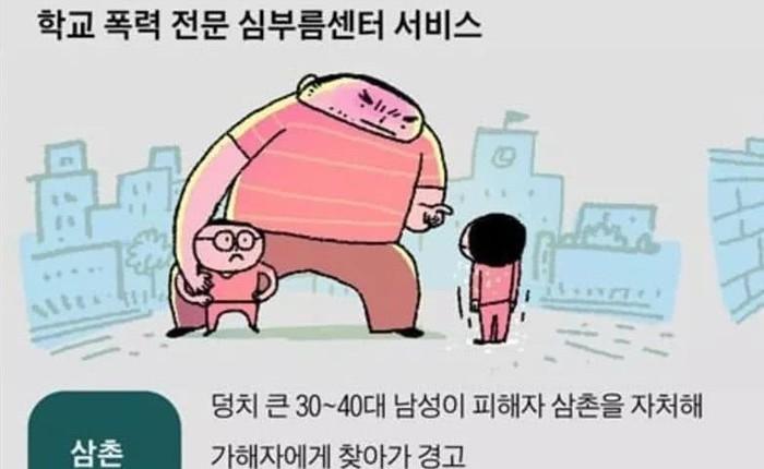 """Phụ huynh Hàn Quốc đang thuê những """"ông chú đáng sợ"""" với giá 10,5 triệu/ngày để bảo vệ con khỏi đầu gấu"""