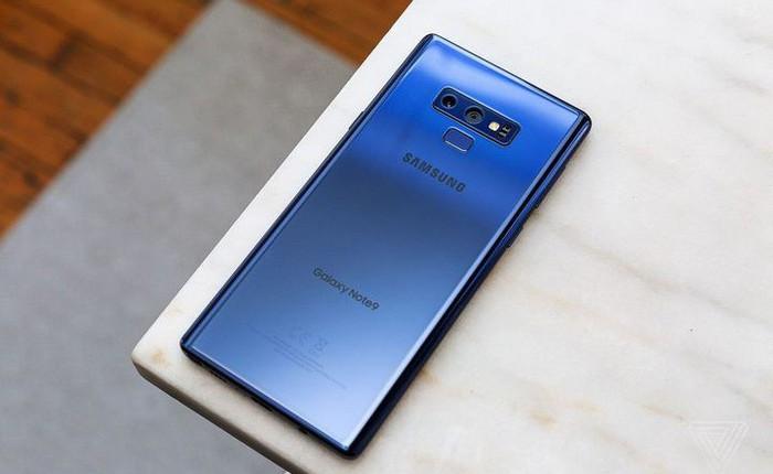 Samsung Galaxy Note9 bất ngờ là smartphone đứng đầu về mức độ hài lòng tại thị trường Châu Âu