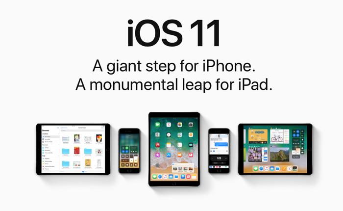 Apple công bố số liệu mới về iOS: 85% người dùng đang ở iOS 11, iOS 10 là 10%
