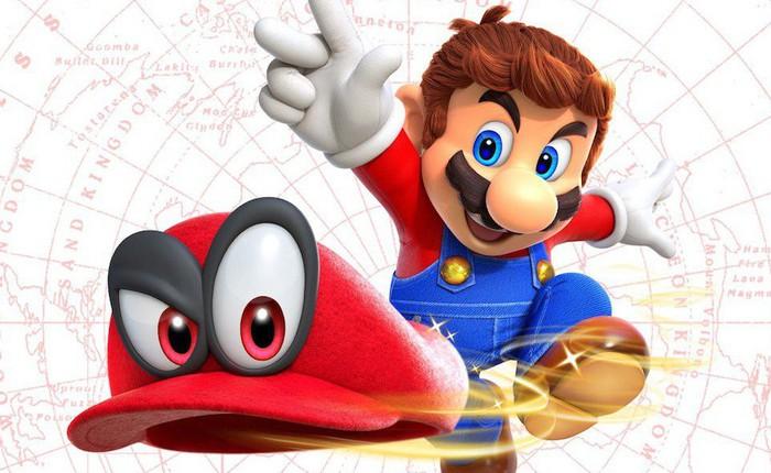 """Lách luật trong game, Youtuber vẫn có thể phá đảo Super Mario Odyssey mà không cần """"nhảy"""""""