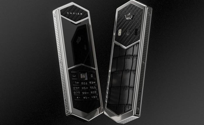 Chiêm ngưỡng Nokia 6500 độ lại khung carbon, ốp lưng da cá sấu, bàn phím titan, giá 60 triệu