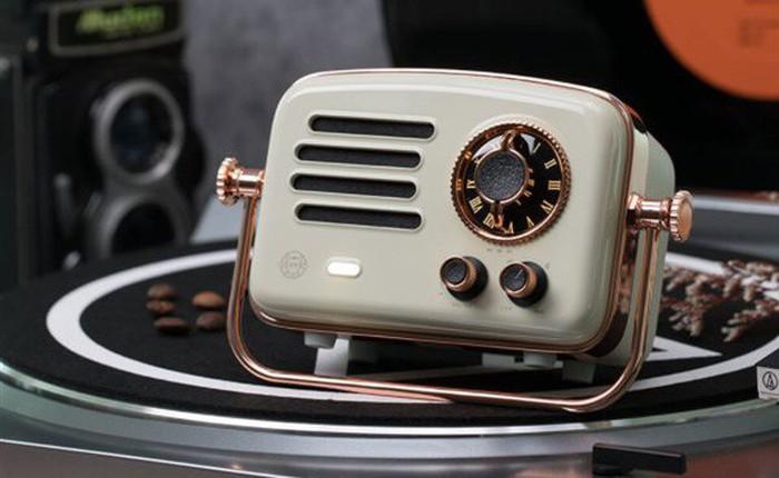 Xiaomi ra mắt chiếc radio Elvis Presley mang phong cách cổ điển, chất lượng âm thanh HiFi, giá 1,7 triệu đồng