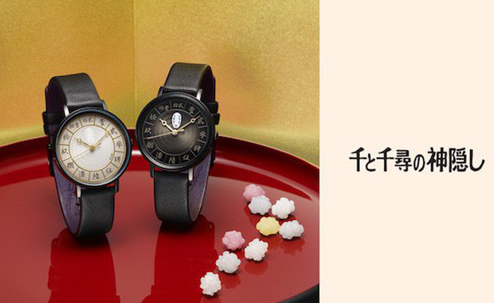 """Lấy cảm hứng từ anime, Seiko ra mắt đồng hồ bản giới hạn theo phong cách """"Spirited Away"""""""