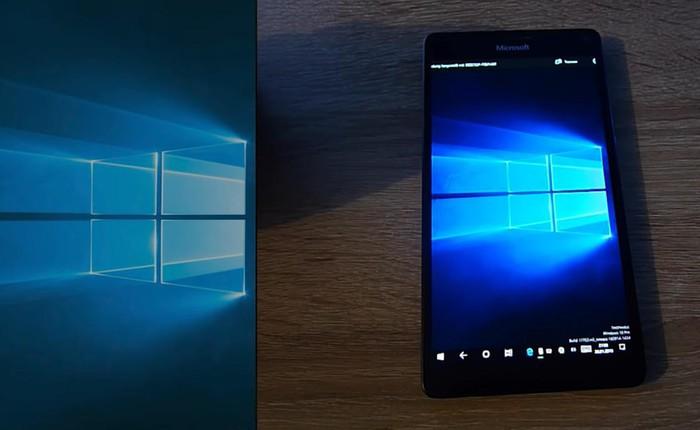 Video đầy đủ Lumia 950 XL chạy hệ điều hành Windows 10