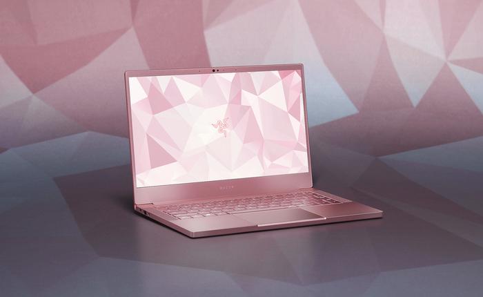 """Razer ra mắt phiên bản laptop Blade Stealth """"đánh cắp trái tim"""" với màu hồng"""