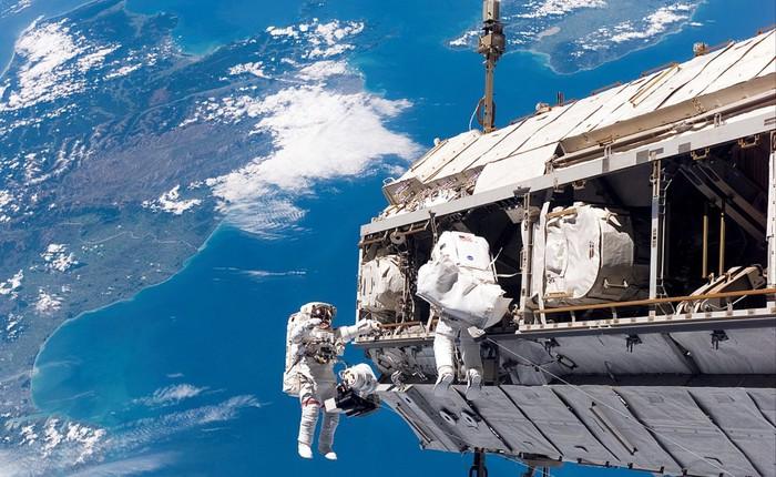 Một phi hành gia đã nhỡ tay bấm gọi 911 từ trạm Vũ trụ Quốc tế ISS