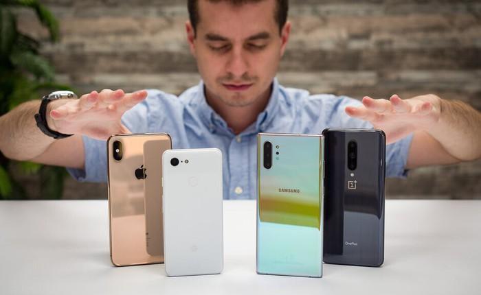 Đọ khả năng giữ giá của Apple, Samsung, Google, LG, Sony: Smartphone cao cấp nào bị mất giá nhiều nhất sau 1 năm?