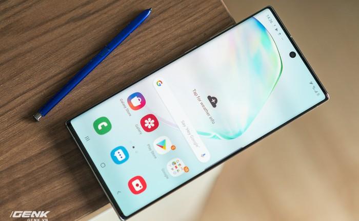 Samsung Việt Nam chính thức tung bản cập nhật bảo mật vân tay cho Galaxy S10 và Note 10