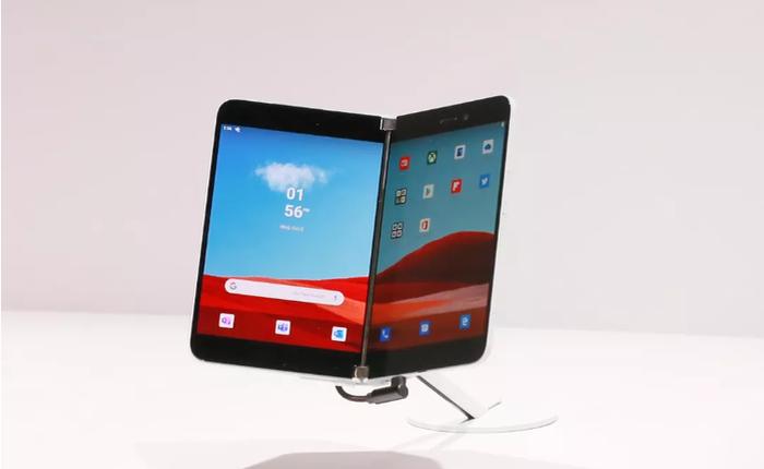 """Windows Phone có thể chết, nhưng tham vọng của Microsoft vẫn còn """"sống"""" khi Surface Duo dùng Android"""