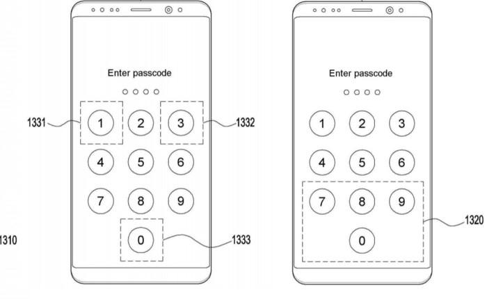 Smartphone tương lai của Samsung có thể quét vân tay khi bạn nhập mã pin