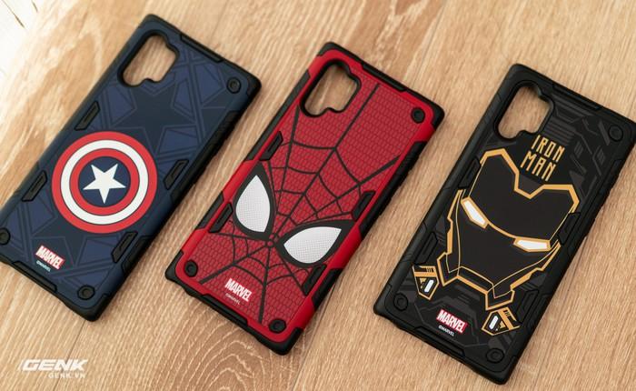 Trên tay ốp lưng Galaxy Note 10+ phiên bản Siêu anh hùng Marvel: rất cao cấp, đổi được giao diện cực cool