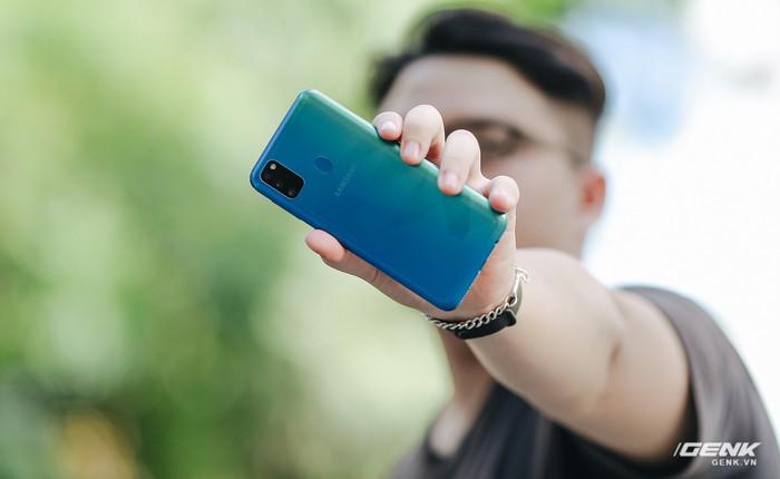 Trên tay Galaxy M30s: 3 tùy chọn màu sắc, cụm camera mới, pin 6.000 mAh, giá 6.99 triệu đồng