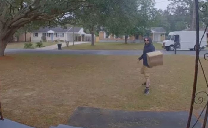 Nhân viên ship hàng FedEx ném ống kính máy ảnh 1500 USD thay vì đi thêm 3m tới cửa nhà khách hàng