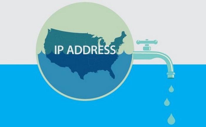 4,3 tỷ IPV4 đã được phân phối hết trên khắp thế giới và chính thức cạn kiệt