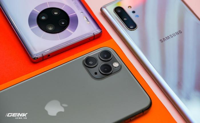 Kết quả cuộc so găng camera iPhone 11 Pro Max vs. Huawei Mate 30 Pro vs. Galaxy Note 10 vs. máy ảnh Mirrorless