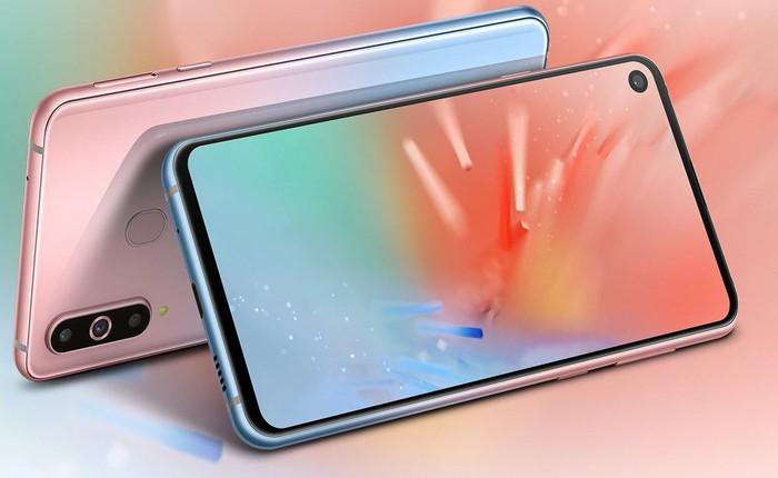 Samsung ra mắt hai phiên bản màu gradient đẹp mắt mới cho Galaxy A8s