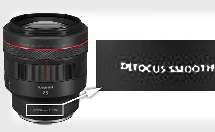 Canon chuẩn bị ra mắt ống kính với công nghệ làm mờ nền ảnh (Defocus Smoothing)