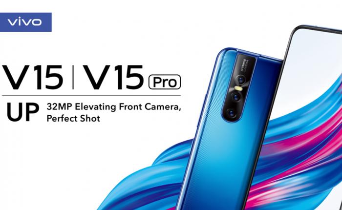 """Vivo V15 Pro ra mắt: Camera selfie """"thò thụt"""" 32MP, 3 camera chính, vân tay trong màn hình, Snapdragon 675, giá 9.5 triệu đồng"""