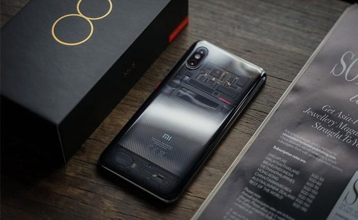 Mi 9 ra mắt, Xiaomi giảm giá Mi 8 với cảm biến vân tay trong màn hình, mặt lưng trong suốt còn hơn 8 triệu