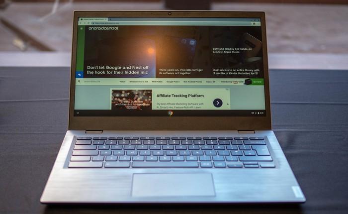 [MWC 2019] Lenovo 14e Chromebook là chiếc máy tính dành cho những nhân viên công sở vụng về