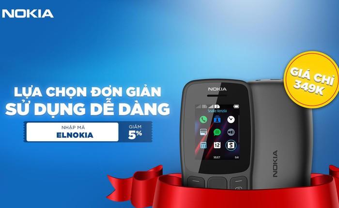 """Nokia 106 - sự trở lại đầy tiếng vang của dòng điện thoại """"cục gạch"""" nổi danh một thời"""