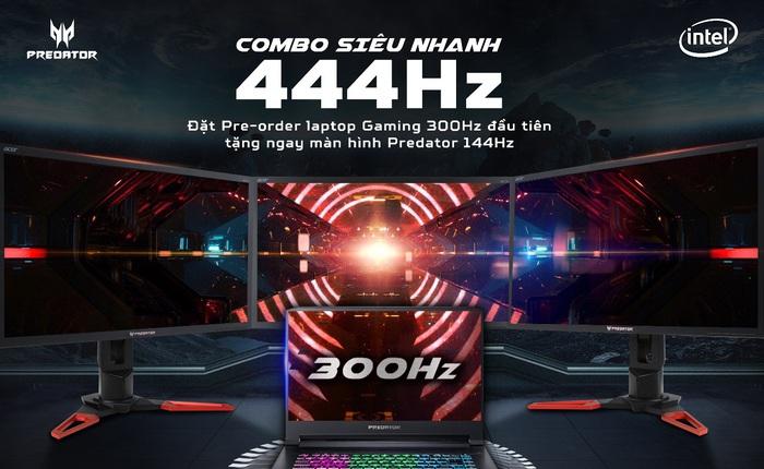 Game thủ Việt săn lùng laptop Predator Triton 500 màn hình 300Hz: Bắn súng bao sướng, chỉ số K/D tăng vọt