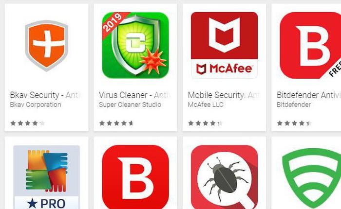 Công ty Áo công bố 138/250 ứng dụng anti virus trên Android rất hay cảnh báo sai, có cả BKAV Mobile Security