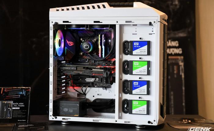 Western Digital ra mắt ổ cứng WD BLACK SN750 NVME SSD: hiệu năng cực cao, có tản nhiệt riêng, giá từ 1,95 triệu đồng