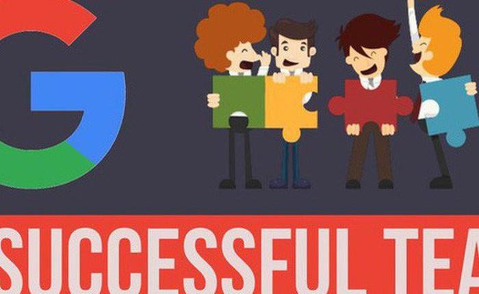 Google tiết lộ bí quyết để tạo nên một team hoàn hảo không tì vết: Hoá ra làm việc nhóm lại đơn giản thế này!