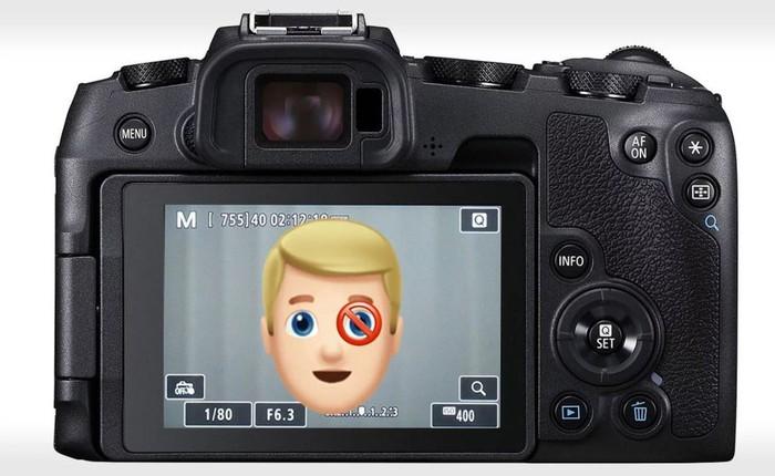Máy ảnh không gương lật của Canon không dành cho người thuận mắt trái