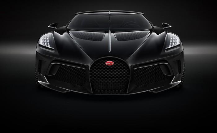 Cận cảnh siêu xe đắt nhất thế giới Bugatti La Voiture Noire giá 450 tỷ VNĐ chưa thuế, chỉ có đúng 1 chiếc trên thế giới và đã có người mua