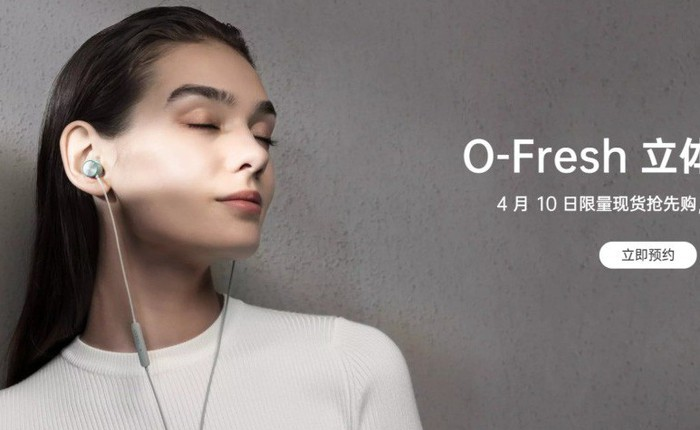 OPPO ra mắt tai nghe O-Fresh: Hỗ trợ Hi-Res, có cả phiên bản dùng jack 3.5mm và USB-C, giá 450.000 đồng