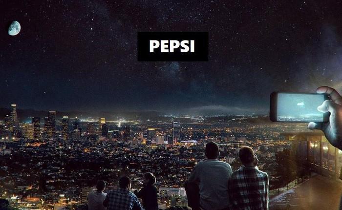Pepsi dự tính thuê startup vệ tinh của Nga để phát quảng cáo lên bầu trời đêm