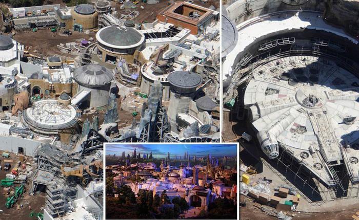Toàn cảnh công viên Disney tỷ đô phong cách 'Chiến tranh giữa các vì sao' trước ngày mở cửa chính thức
