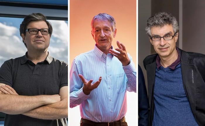 3 người đàn ông quan trọng nhất trong ngành AI vừa nhận Giải thưởng Turing danh giá kèm 1 triệu USD