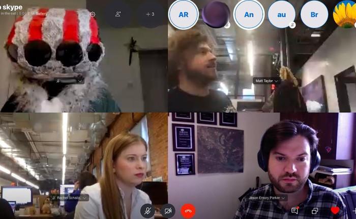 Dùng thử tính năng gọi video cùng lúc 50 người của Skype: gợi lại một thời chat room Yahoo