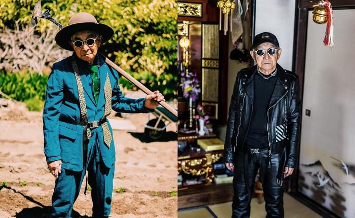 Internet phát sốt với cụ ông ăn chơi nhất Nhật Bản: 84 tuổi vẫn diện đồ hiệu nghìn USD, thần thái ngút trời