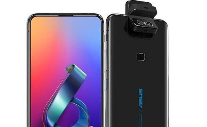 Asus Zenfone 6 lộ thiết kế trước giờ ra mắt, màn hình không khiếm khuyết, camera lật độc đáo